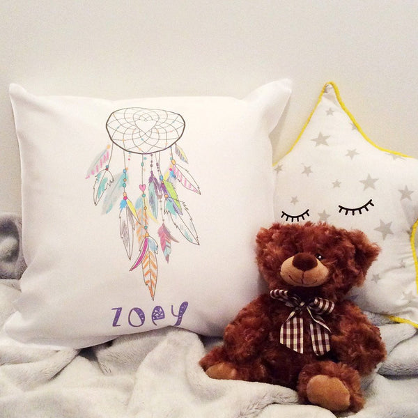 Personalised Name Cushion - Dreamcatcher Design