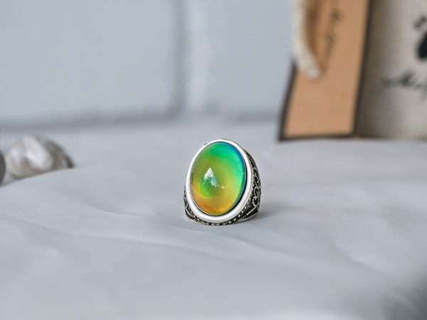 Elite Batik Design Mood Ring