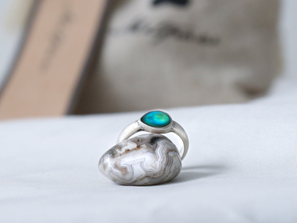 Bohemian Tear Drop Mood Ring