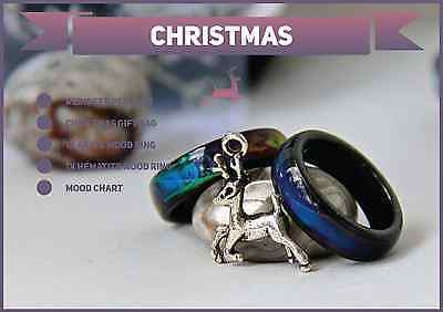 Christmas Special 1x Genuine Black Agate & 1x Hematite Mood Rings !! + More - Mitpaw
