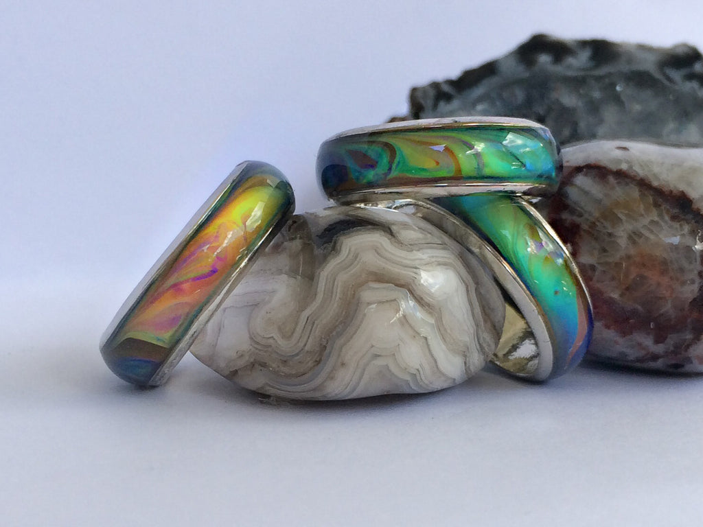 Opalescent Pattern Mood Ring