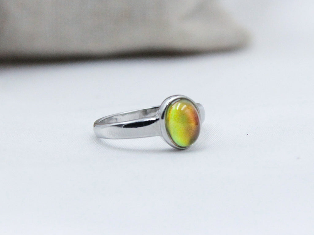 Petite Oval Mood Ring