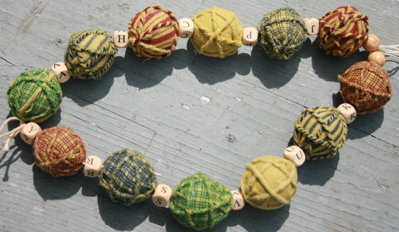 Block & Ball Garland