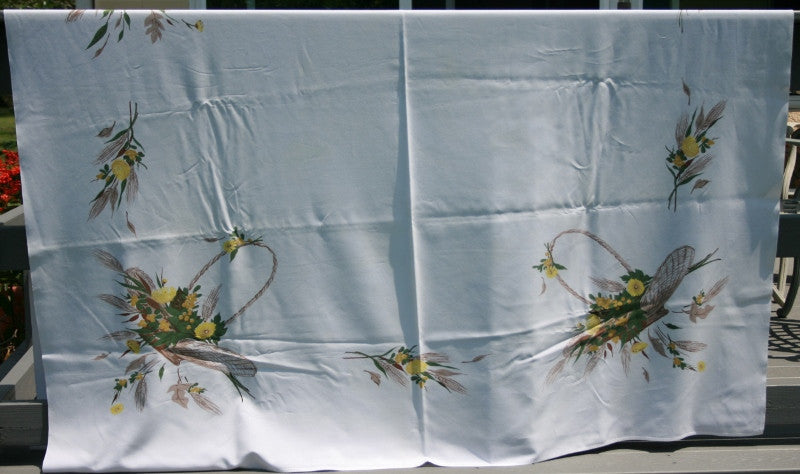 "84""X64"" Autumn Tablecloth"