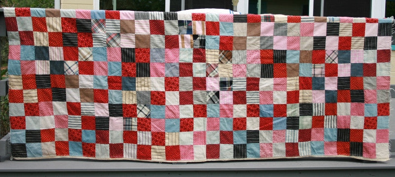 "72""X92"" Backed Quilt Top"