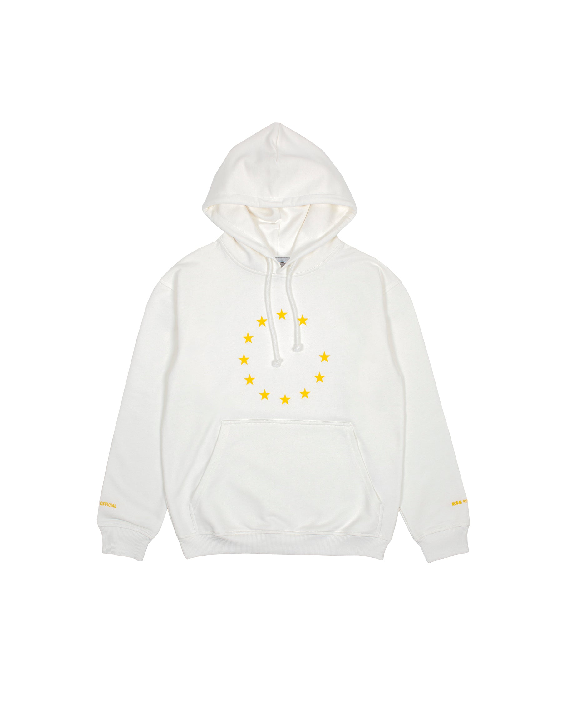EUNIFY CLASSIC HOODIE WHITE