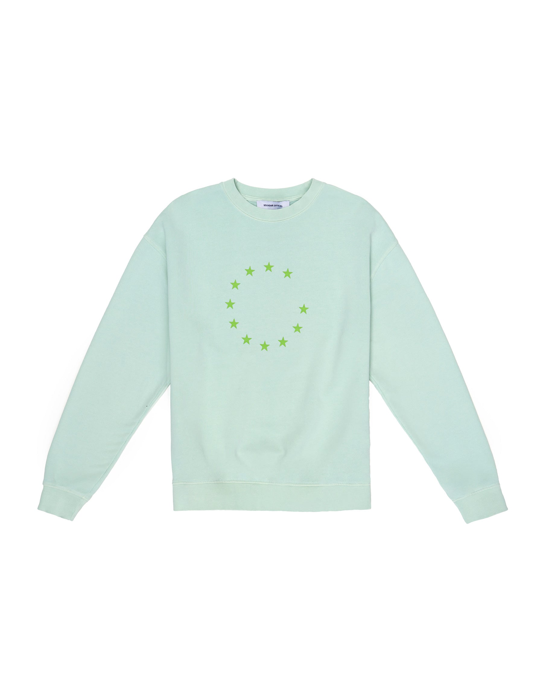 PROTECT PEACE CREWNECK MISTY JADE