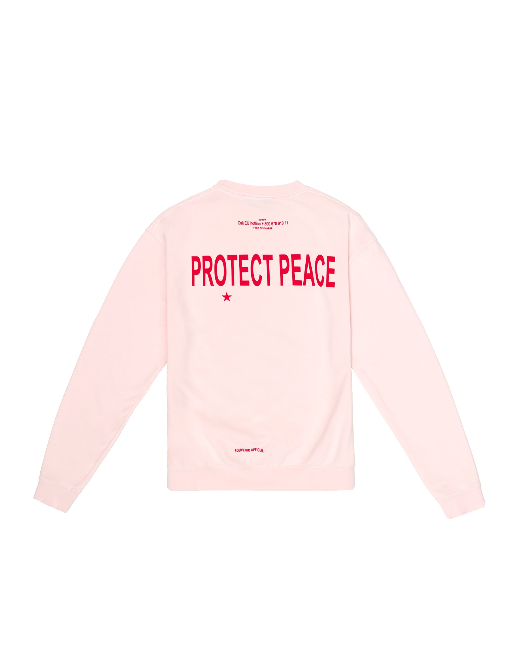 PROTECT PEACE CREWNECK ROSE