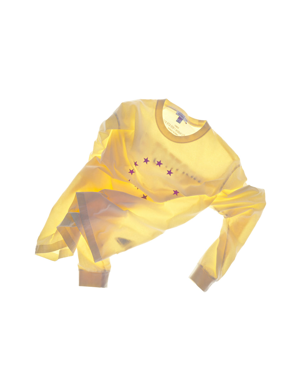 PROTECT PEACE LONGSLEEVE PASTEL YELLOW