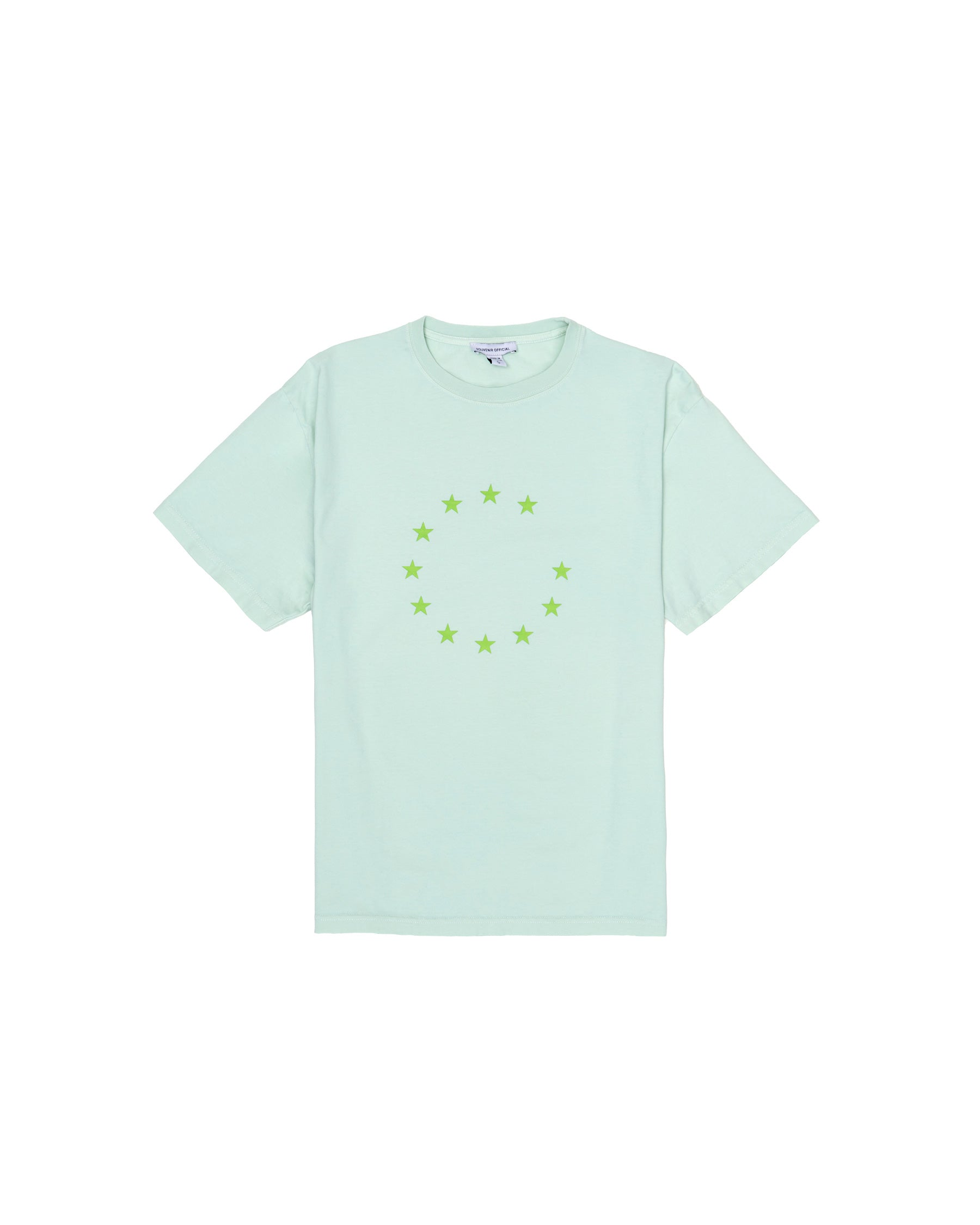PROTECT PEACE T-SHIRT MISTY JADE