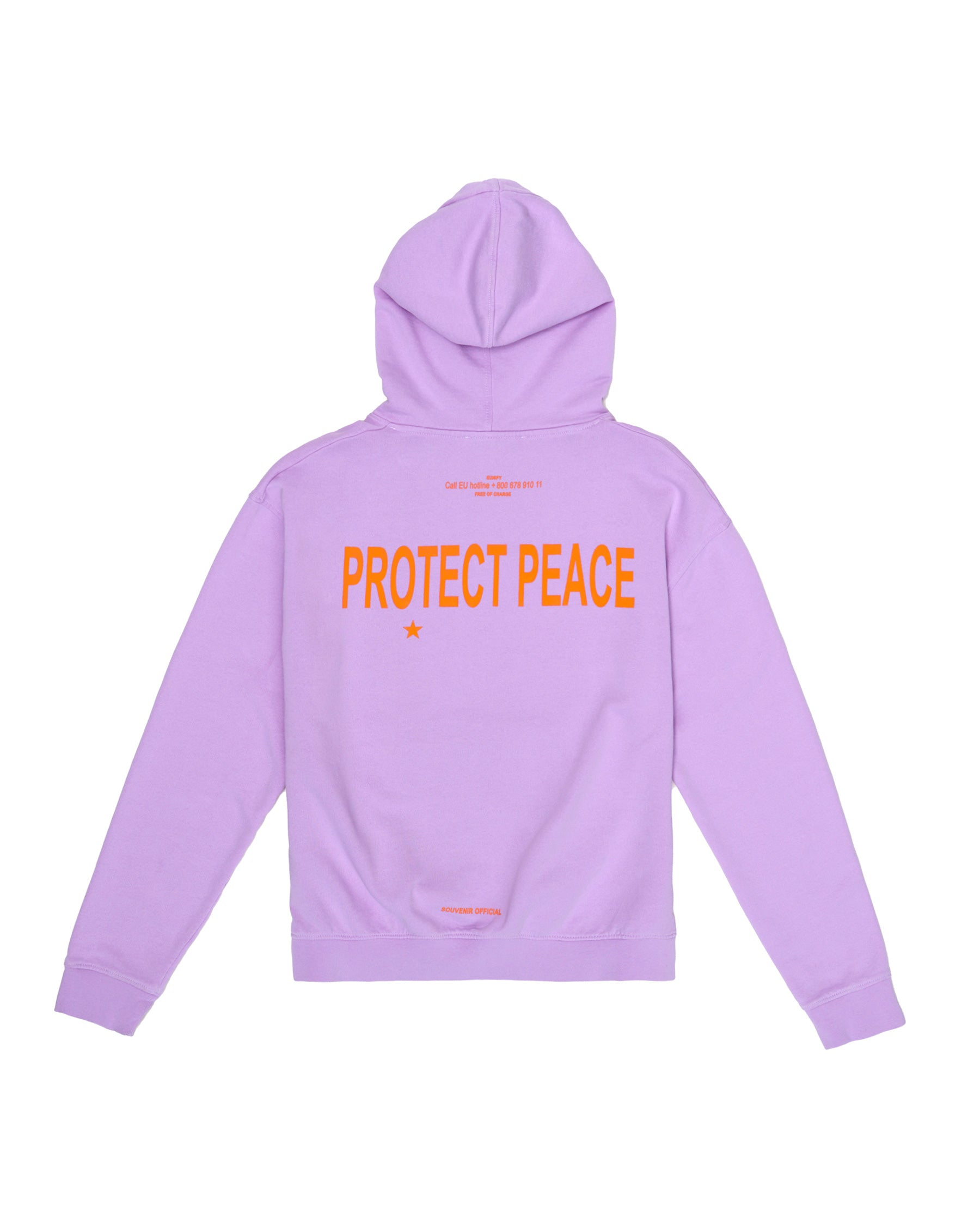 PROTECT PEACE HOODIE LILAC