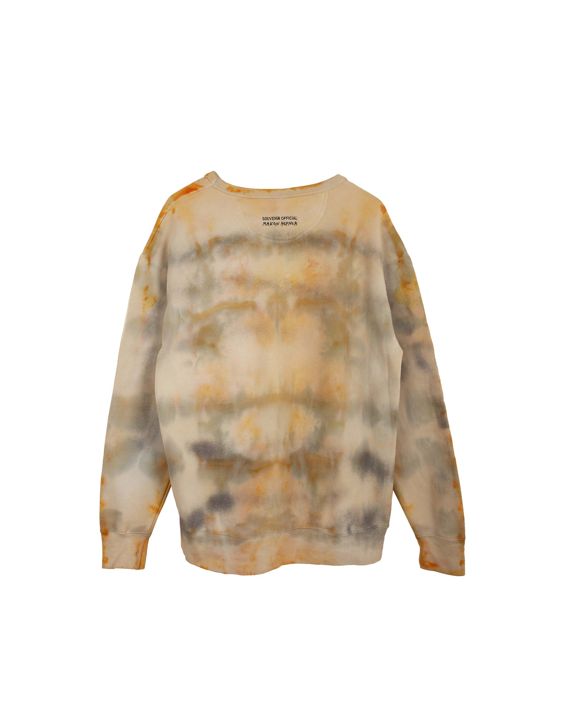 TIE DYE SPRAY CREWNECK LARGE #2