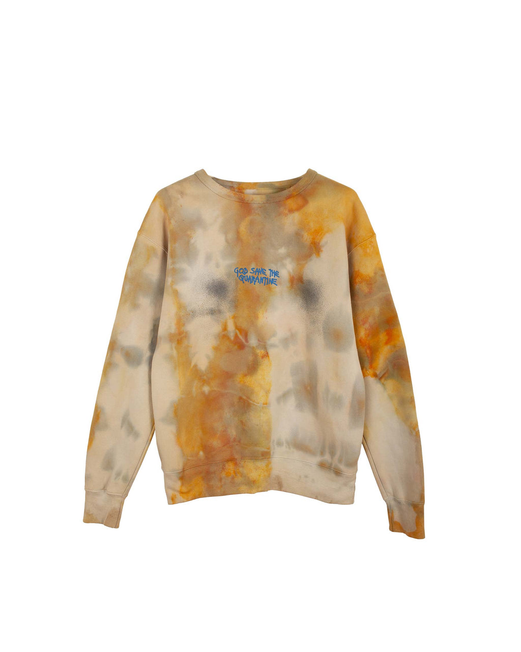 TIE DYE SPRAY CREWNECK MEDIUM #1
