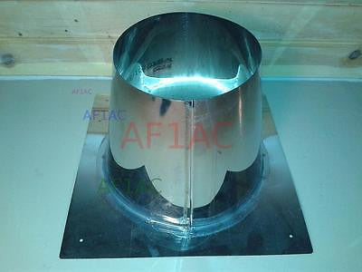 Saf-T Vent SC Tall Cone Flashing - SC03TCF