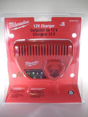Milwaukee 12 Volt Lithium-Ion Battery Charger 48592401