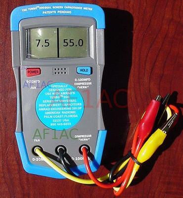 AMRAD Turbo 200Dual Screen Capacitance Meter