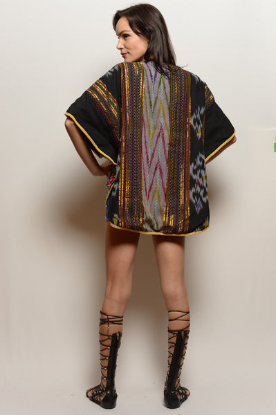 Short Embroidered Jacket - FESTIVALUNIVERSE