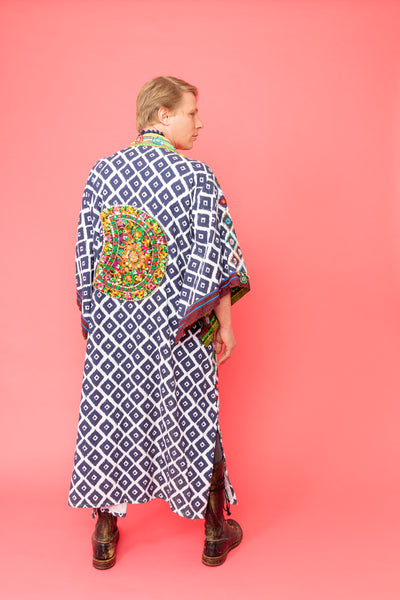 One of a kind Hand Embroidered Kimono