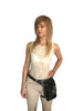 Soft Leather Leg Holster and Cross Body Bag in One