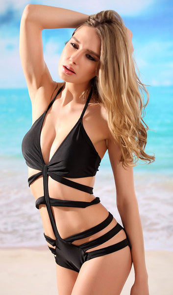 Strappy One Piece Swimsuit