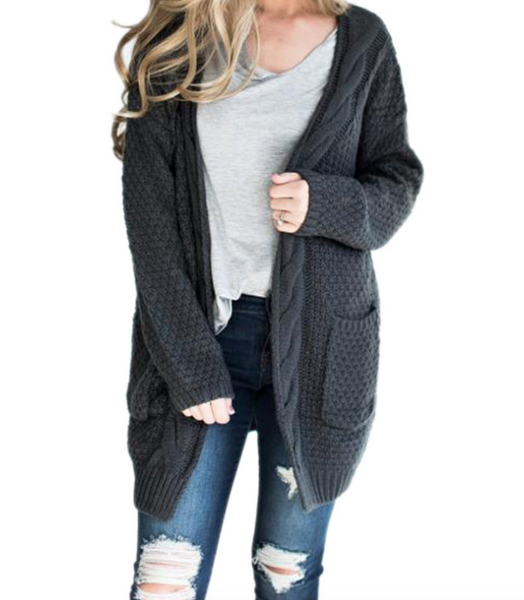 Casual Knit Cardigan