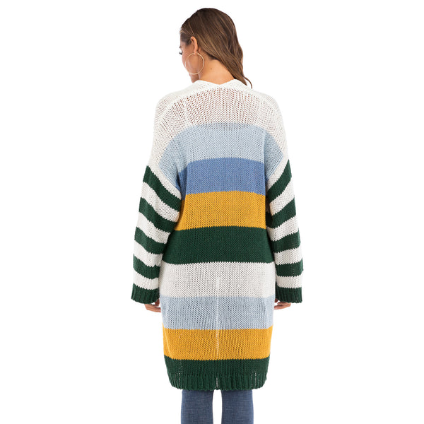 Colorful Knit Cardigan