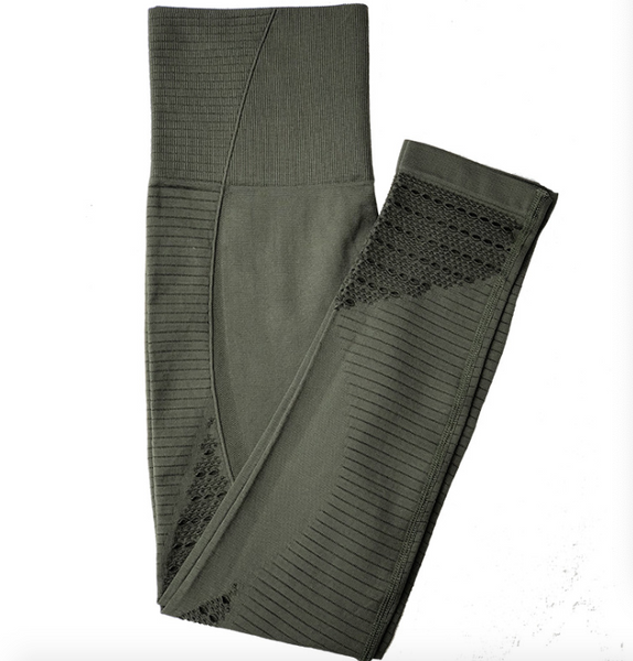 Elastic-waist Gym Pants