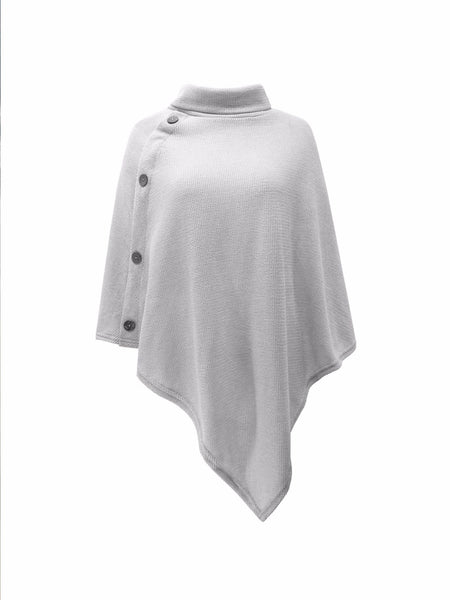 High Collar Cape Sweater