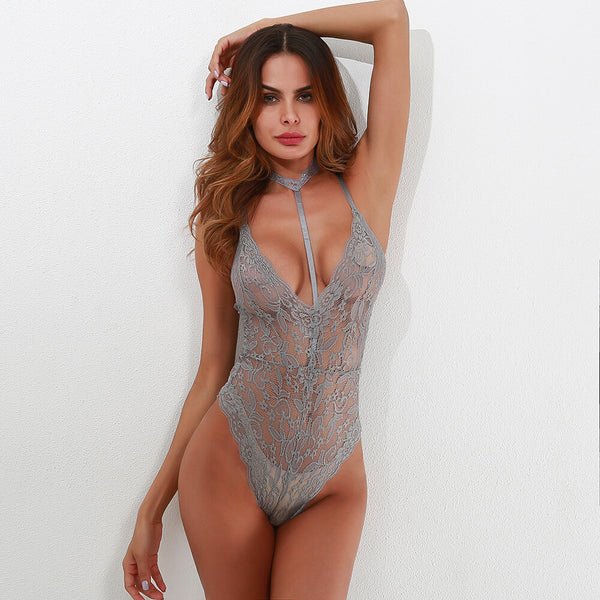 Lace See-through Jumpsuits