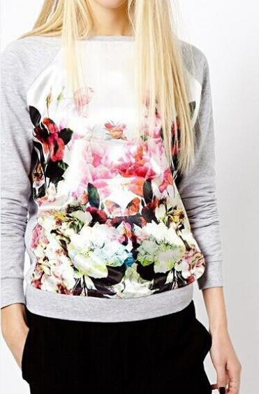 Romoti All About Floral Long Sleeve Sweatshirt