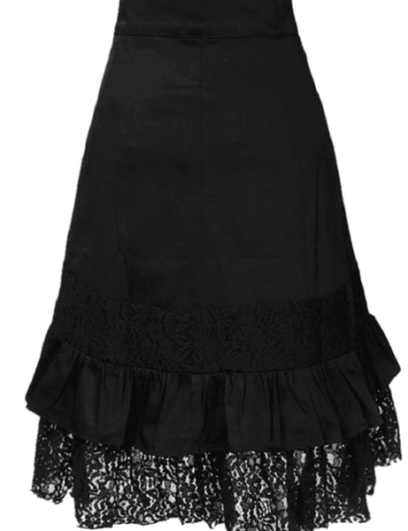 Romoti Lace Irregular Skirt