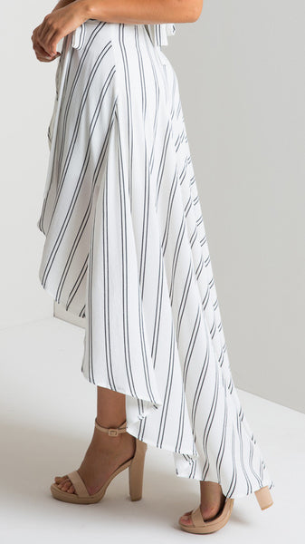 Romoti Bohemia Wrap Irregular Skirt
