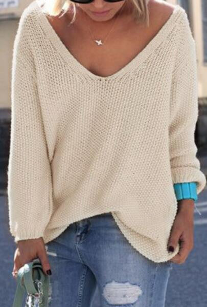 Romoti Coming Around V-neck Sweater