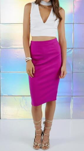 Romoti Cut Out Crop Top