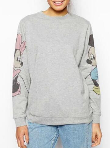 Romoti Cute Rat Gray Sweatshirt