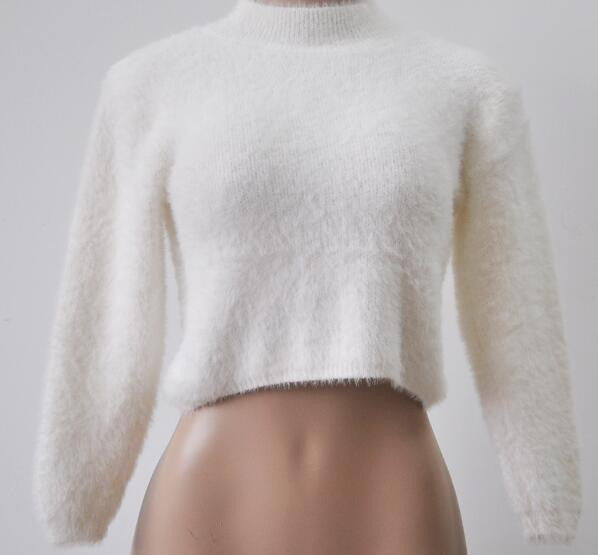 Romoti Follow Heart High Collar Sweater