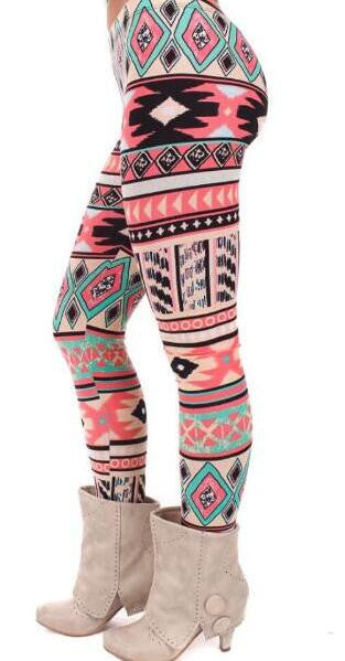Romoti Geometric Patterns Pants