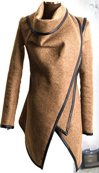 Romoti Just Love Irregular Wool Coat