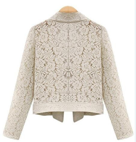 Romoti Lace Hollow Cardigan