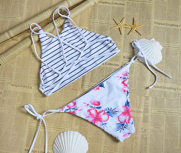 Romoti Make You Beautiful Floral Bikini Set