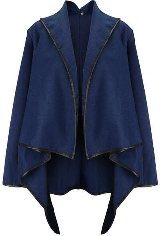 Romoti Morning Light Irregular Wool Coat