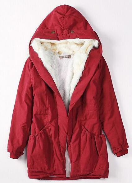Romoti Now Here Casual Hooded Coat