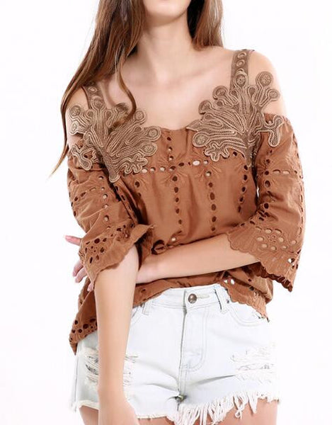 Romoti So Perfect Hollow Top
