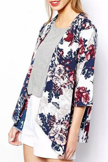 Romoti Sweet Day with Floral Cardigan