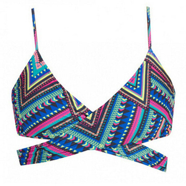 Romoti Wild Feelings Tribal Cross Bikini Set
