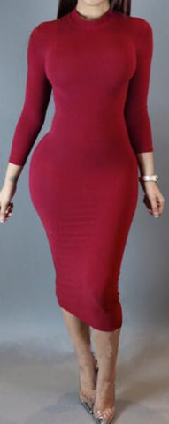 Romoti Young Heart Bodycon Dress
