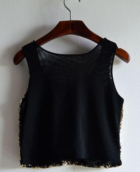 Rompti Saturday Party Sequins Top