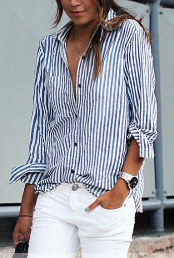Casual Stripe Shirt