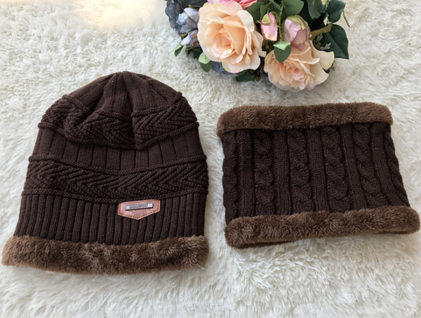 Woollen Hats And Scarf