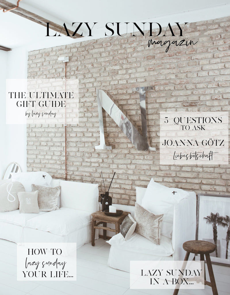 LAZY SUNDAY MAGAZIN EDITION OCTOBER 2018
